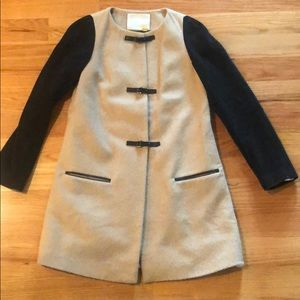 Anthropologie Leifsdottir Reeta Colorblock Coat